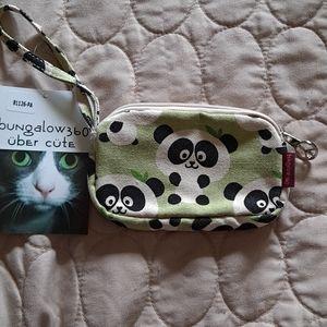 Bungalow 360 Panda clutch coin purse